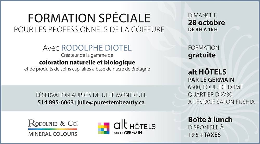 La coloration Rodolphe & Co. arrive au Québec - Sylvie Boulet